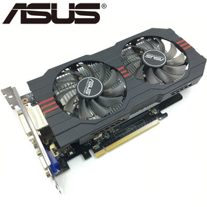 ASUS Graphics Card Original GTX 750 Ti 2GB 128Bit GDDR5 Video Cards for nVIDIA Geforce GTX 750Ti Used VGA Cards GTX750TI 1050