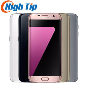 Unlocked Original Samsung Galaxy S7 edge G935F/G935V  4GB RAM 32GB ROM Quad Core 5.5 inch WIFI GPS 12MP 4G LTE Mobile Phone