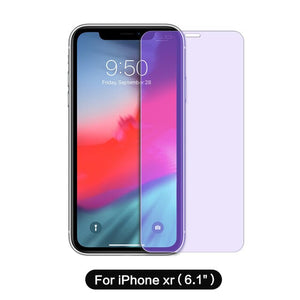 SmartDevil  Anti-Blue Light Tempered Glass for Iphone 8 6 6S 7 8 Plus  Protector Film Foriphone X Xr XS MAX Mobile Phone Screen