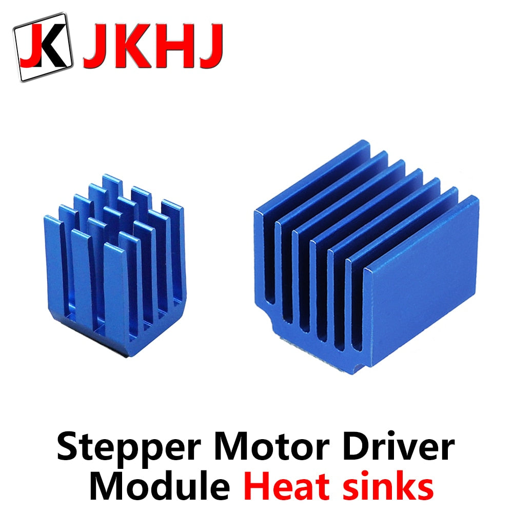 5pcs/lot 3D Printer Parts A4988 DRV8825 LV8729 TMC2100 TMC2208 Stepper Motor Driver Module Heat sinks Cooling Block Heatsink