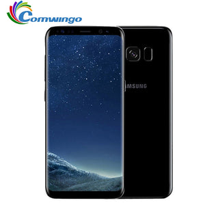"Original Samsung Galaxy S8 Plus SM-G955U 4GB RAM 64GB ROM 6.2"" Single Sim Octa Core Android Fingerprint 12MP 3500mAh Phone"