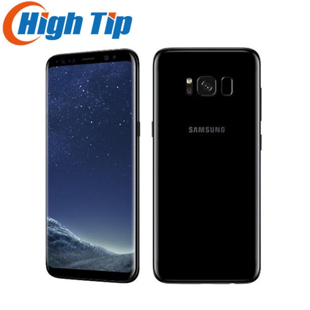 "Original Unlocked  Samsung Galaxy S8 G950U 4G LTE Android Mobile Phone Octa Core 5.8"" 12MP Fingerprint  4GB ROM 64GB 3000mAh"