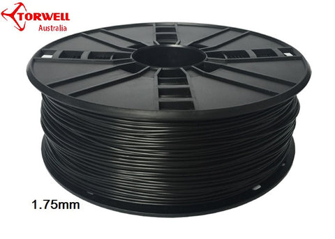 Flex 3D printer filament Black 1.75mm Or 3.0mm