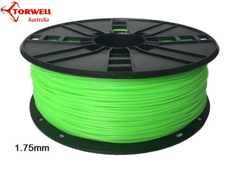 Flex 3D printer filament Green 1.75mm Or 3.0mm