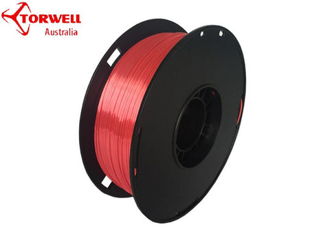Silk 3D printer filament Red 1.75mm Or 3.0mm