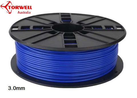 ABS 3D printer filament Blue 1.75mm Or 3.0mm