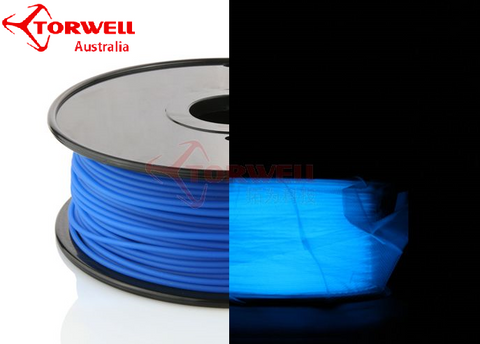 ABS 3D printer filament Luminous blue 1.75mm Or 3.0mm