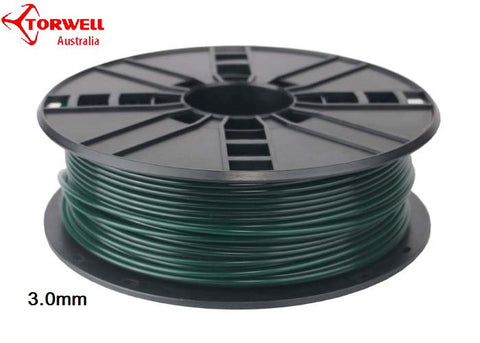 PLA 3D printer filament Christmas green 1.75mm Or 3.0mm