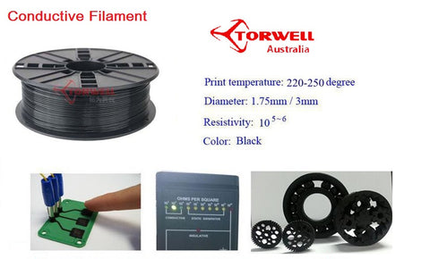 Conductive 3D printer filament 1.75mm Or 3.0mm