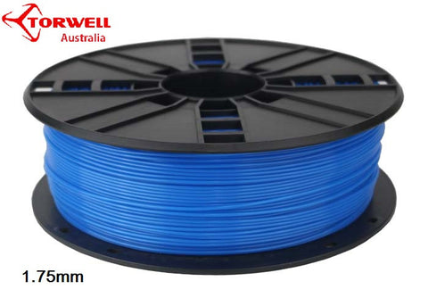ABS 3D printer filament Fluorescent blue 1.75mm Or 3.0mm