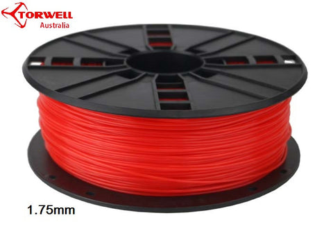 ABS 3D printer filament Fluorescent red 1.75mm Or 3.0mm
