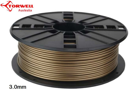 ABS 3D printer filament Gold 1.75mm Or 3.0mm