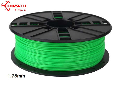 ABS 3D printer filament Green 1.75mm Or 3.0mm