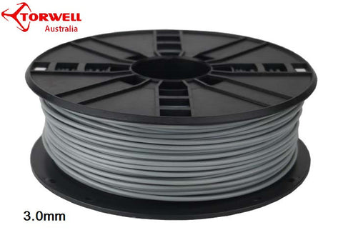 ABS 3D printer filament Grey 1.75mm Or 3.0mm