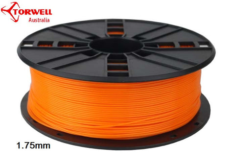 ABS 3D printer filament Orange 1.75mm Or 3.0mm