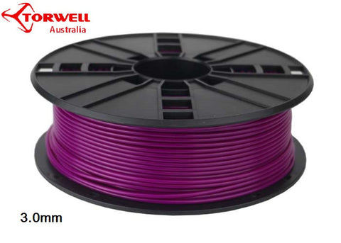 ABS 3D printer filament Purple 1.75mm Or 3.0mm