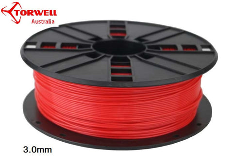 PLA 3D printer filament Red 1.75mm Or 3.0mm