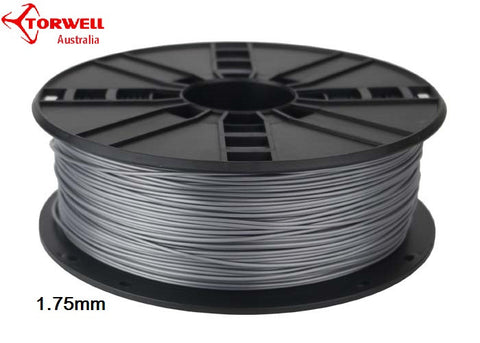 ABS 3D printer filament Silver 1.75mm Or 3.0mm