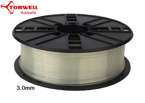 ABS 3D printer filament Transparent 1.75mm Or 3.0mm