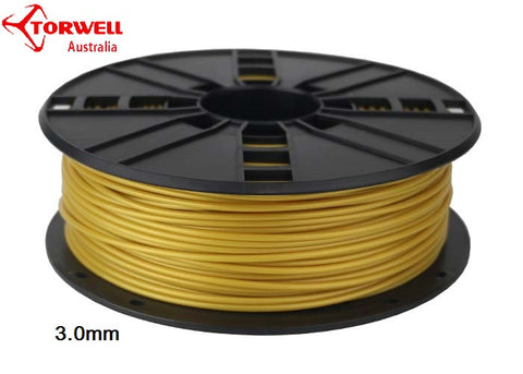 ABS 3D printer filament Yellow gold 1.75mm Or 3.0mm