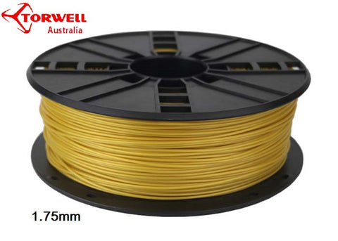 PLA 3D printer filament Yellow Gold 1.75mm Or 3.0mm