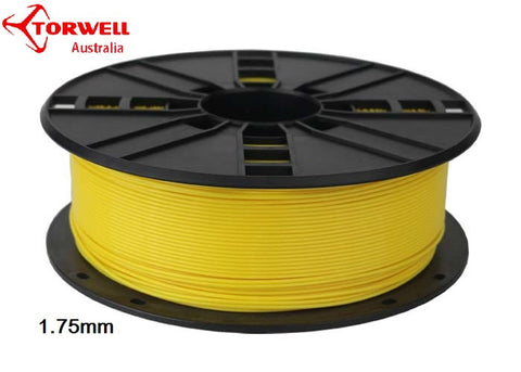 ABS 3D printer filament Yellow 1.75mm Or 3.0mm