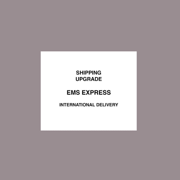 Upgrade your shipping: EMS Express