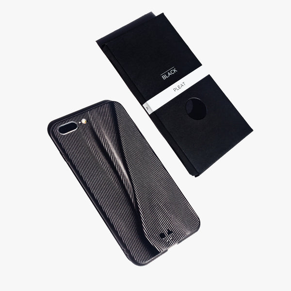 iPhone Case - Black Pleat [Limited Gloss Edition]