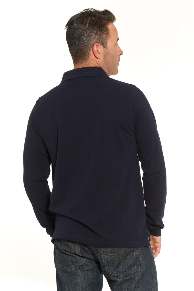 Fancy Navy Polo (Shortsleeve & Longsleeve)