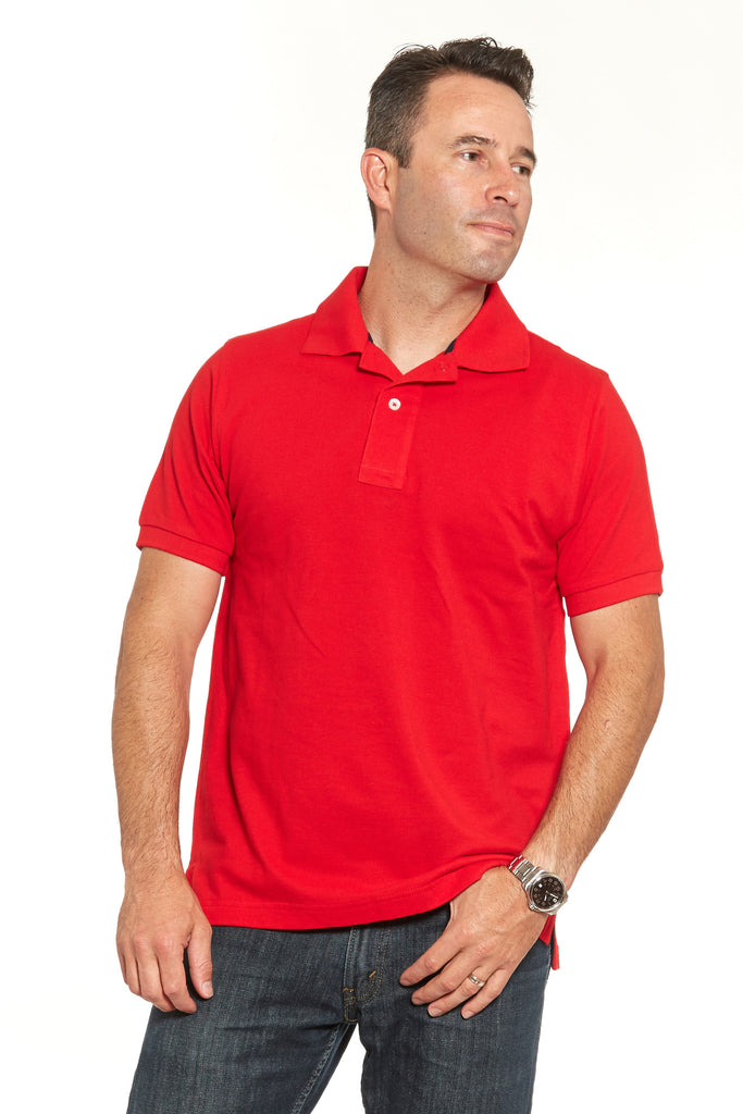 Fancy Red Polo (Shortsleeve & Longsleeve)
