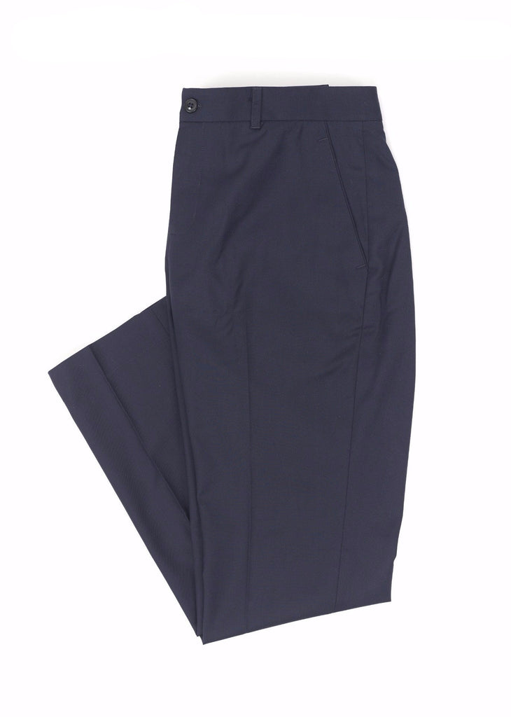 Narrow Fit Navy Pants