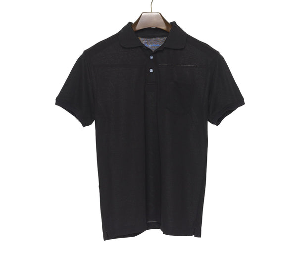 Simple Black Polo