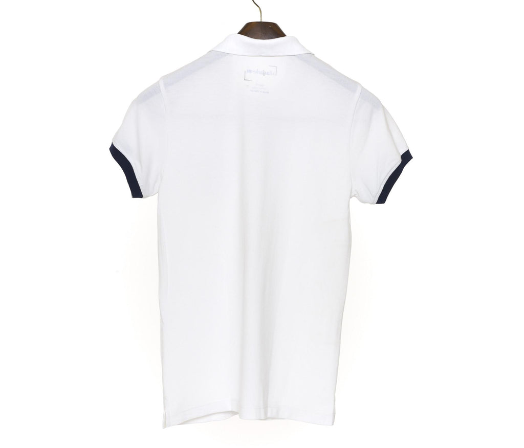 Simple White Polo