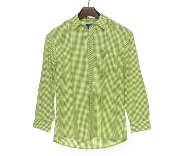 The Green Check Shirt