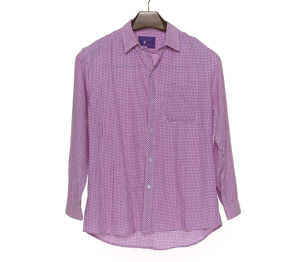 The Purple Check Shirt