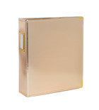 Albums - SC - Handbooks - 6 x 8 - Faux Leather - Gold