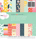 Dear Lizzy Lucky Charm - 6 x 6 Paper Pad