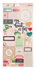 Stickers - MH - Open Book - 6 x 12 - Accent & Phrase - 2 Sheets