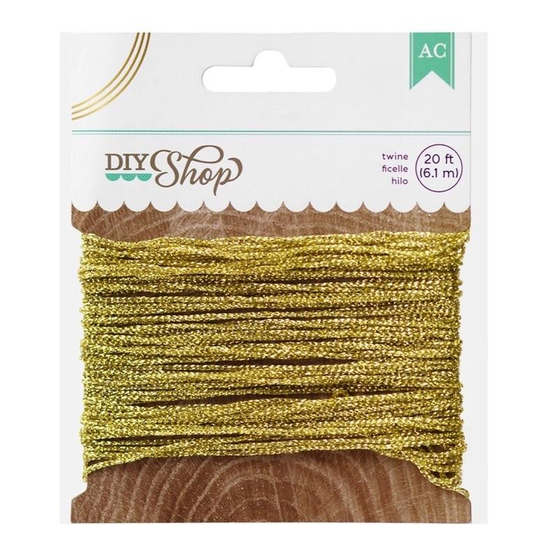 American Crafts - Diy Bakers Twine In Gold