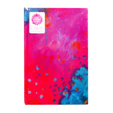 JD MM Journal Bright Abstract Print