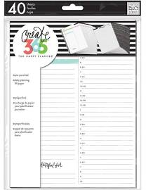 Happy Planner - Daily Sheets - Classic Size
