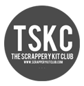 The Scrappery Kit Club's logo