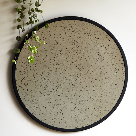 Aged Mottled Mirror