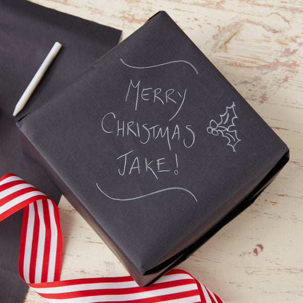 Chalk board Wrapping Paper