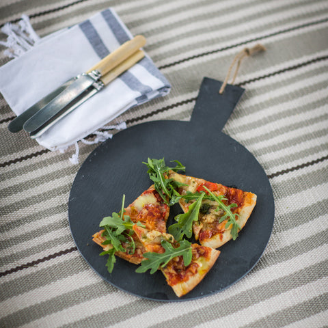 Slate Pizza Serving Board