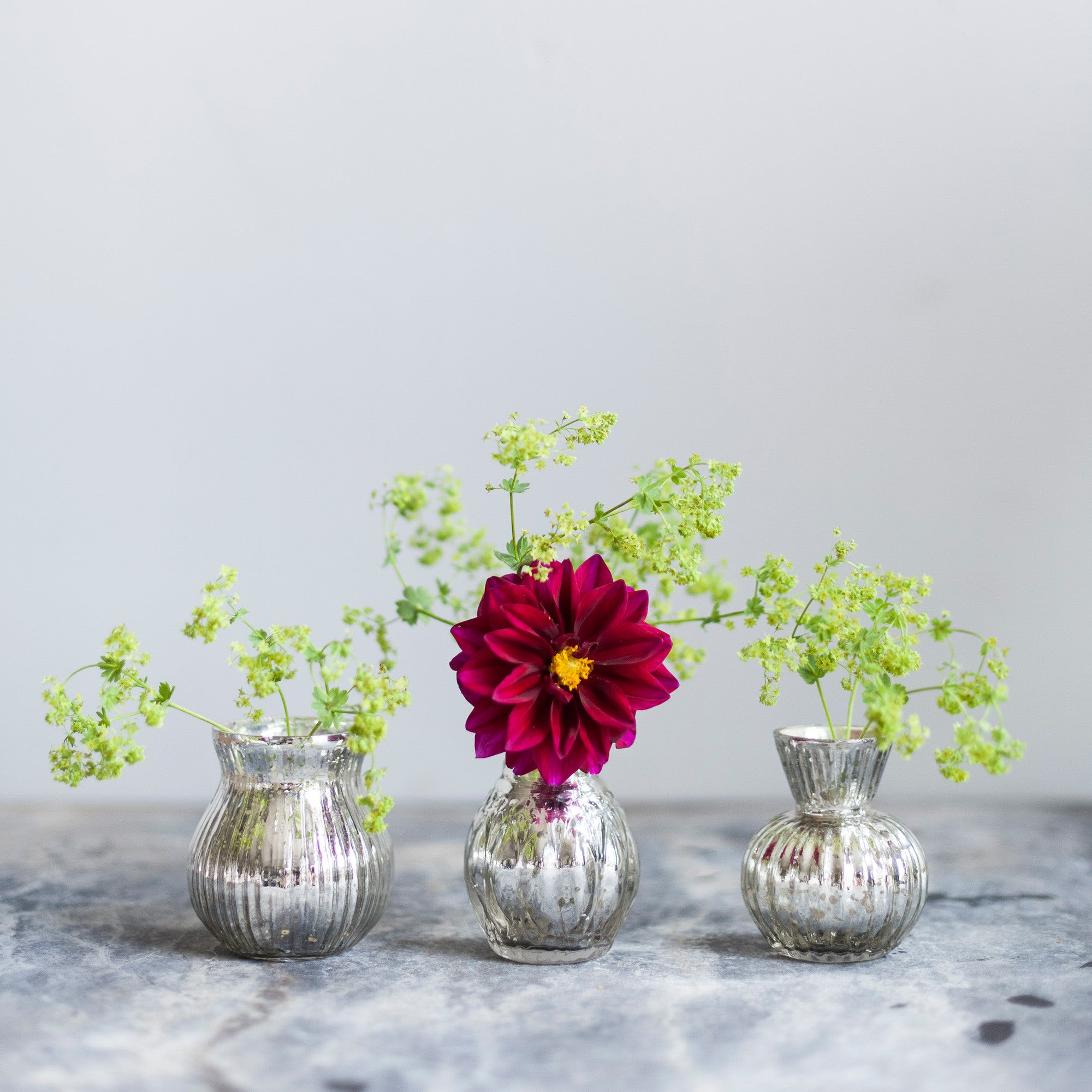 Trio of glass vases the ginger pear trio of glass vases reviewsmspy
