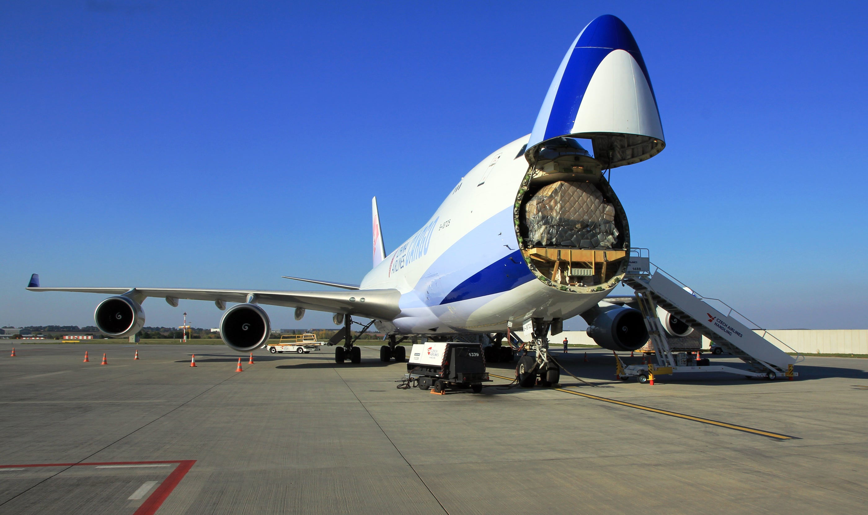 jumbo jet cargo could be batteries