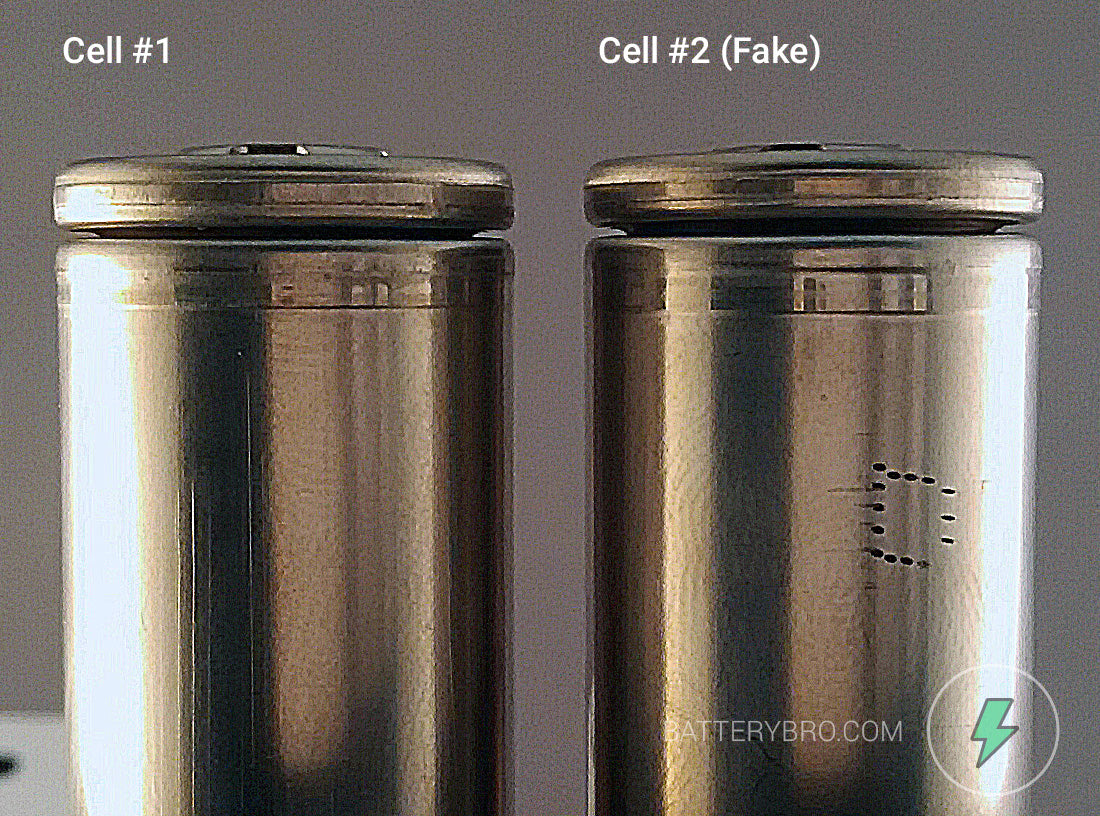 comparing two cells
