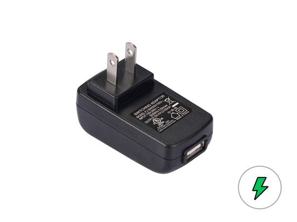 USB Wall Adapter Plug - 18650 Battery | BATTERY BRO - 1