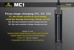 MC1 Charger - 18650 Battery | BATTERY BRO - 2